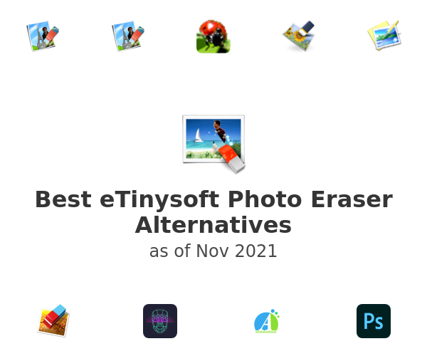 Best eTinysoft Photo Eraser Alternatives