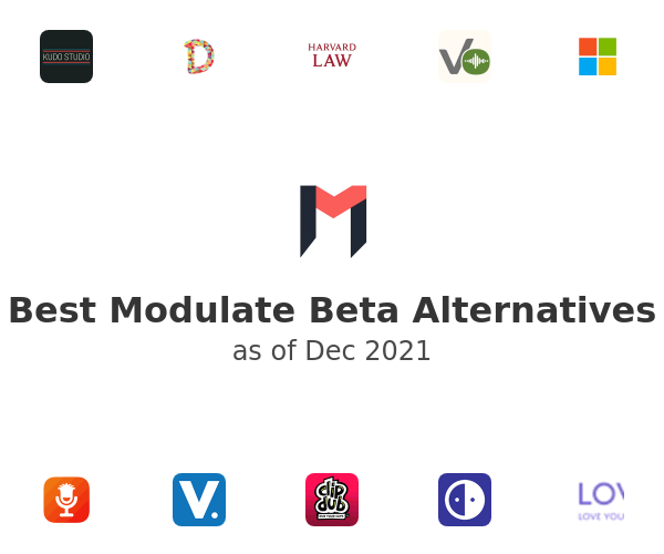 Best Modulate Beta Alternatives
