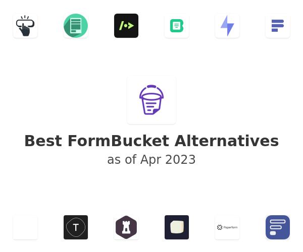 Best FormBucket Alternatives