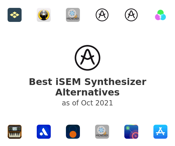 Best iSEM Synthesizer Alternatives