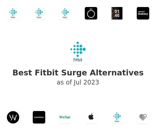 Best Fitbit Surge Alternatives