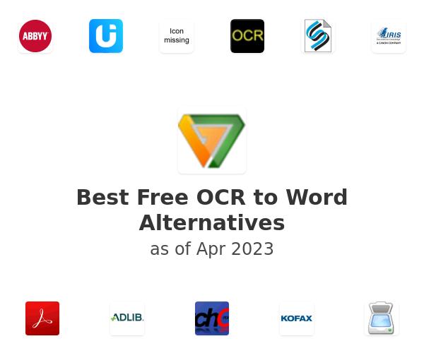 Best Free OCR to Word Alternatives