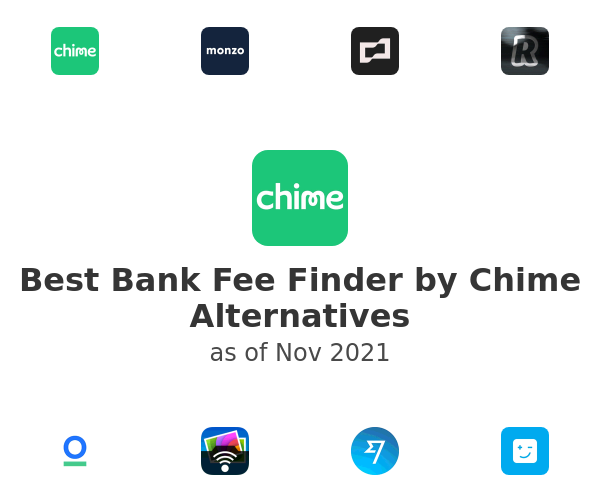 Best Bank Fee Finder by Chime Alternatives