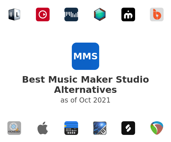 Best Music Maker Studio Alternatives