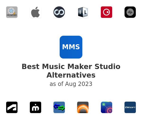 Best Music Maker Studio Alternatives