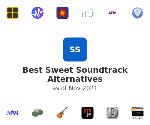 Best Sweet Soundtrack Alternatives