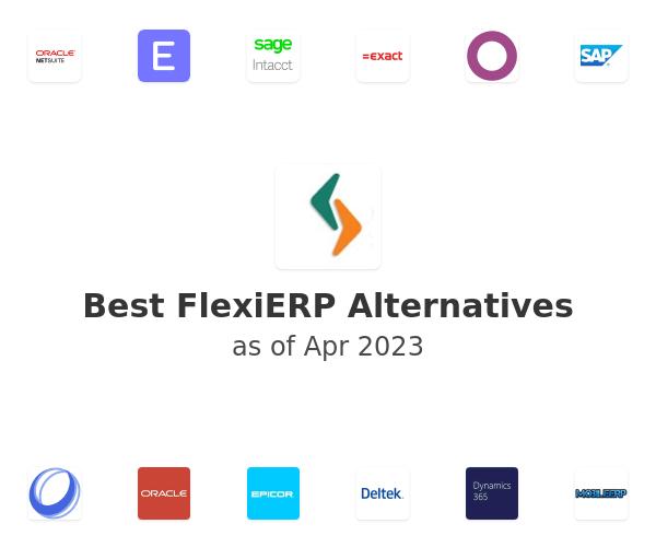 Best FlexiERP Alternatives