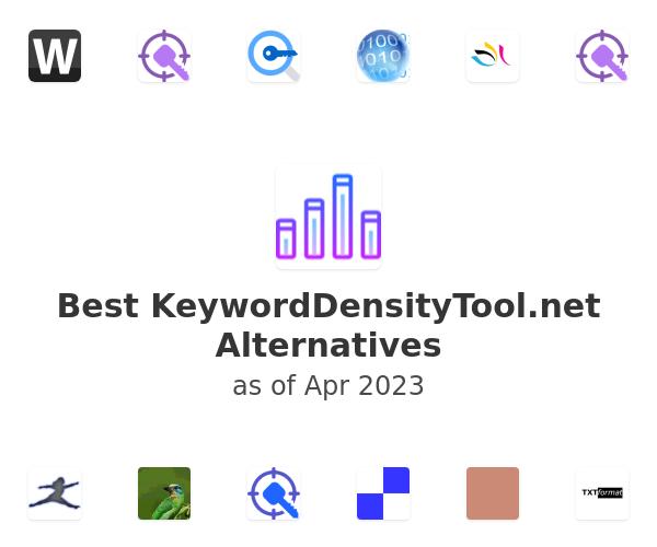 Best KeywordDensityTool.net Alternatives