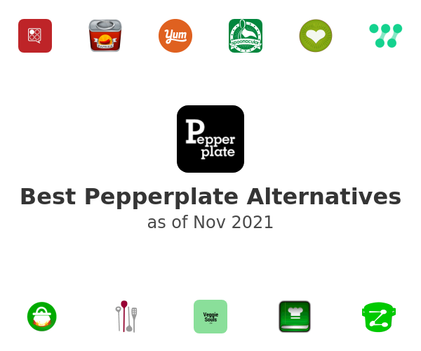 Best Pepperplate Alternatives