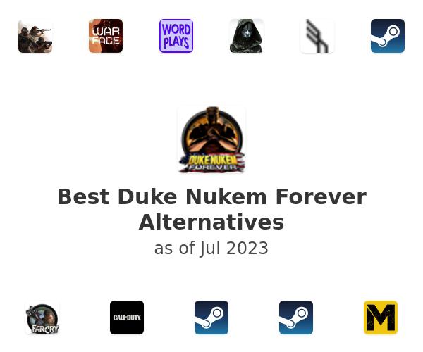 Best Duke Nukem Forever Alternatives