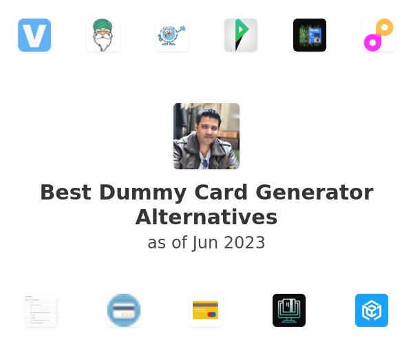 Best Dummy Card Generator Alternatives