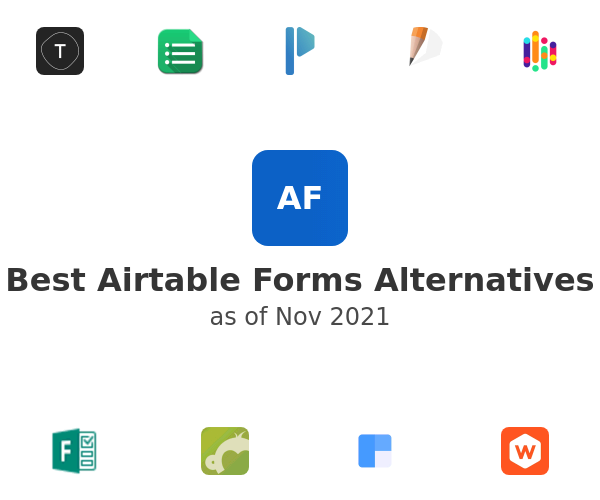 Best Airtable Forms Alternatives