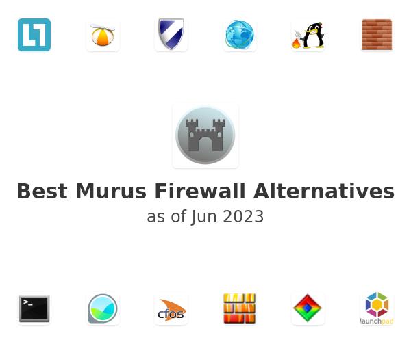 Best Murus Firewall Alternatives