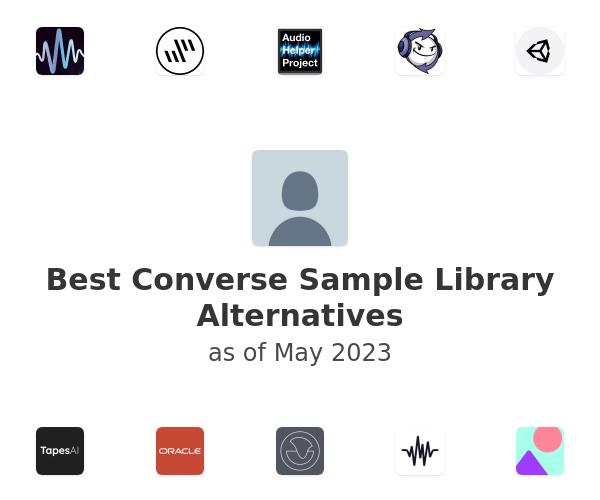 Best Converse Sample Library Alternatives