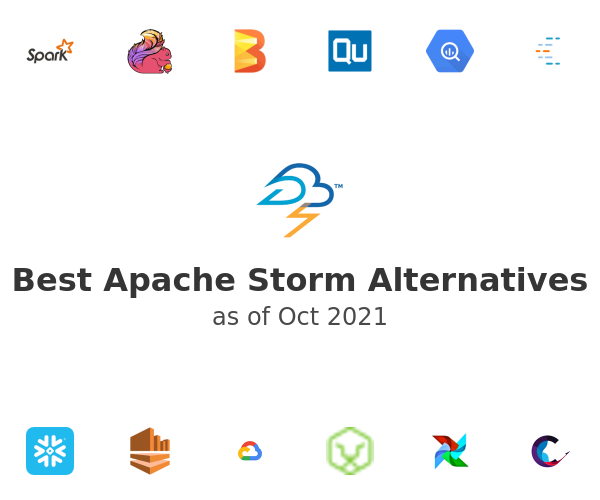 Best Apache Storm Alternatives