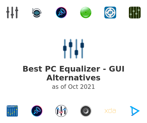 Best PC Equalizer - GUI Alternatives