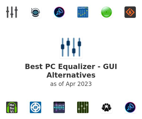 Best PC Equalizer - GUI Alternatives