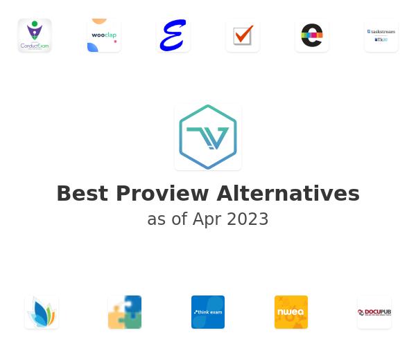 Best Proview Alternatives