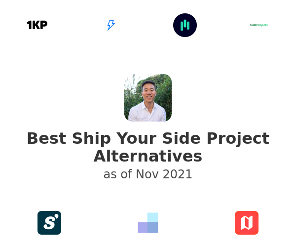 Best Ship Your Side Project Alternatives