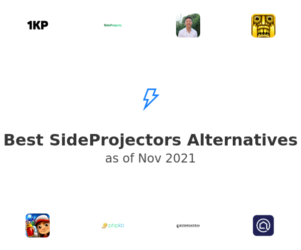 Best SideProjectors Alternatives