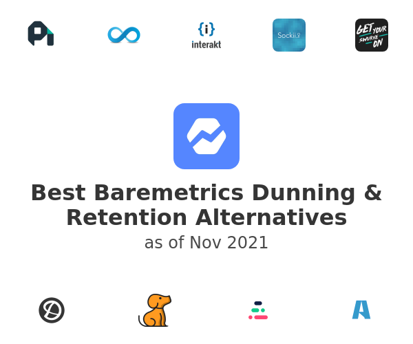 Best Baremetrics Dunning & Retention Alternatives