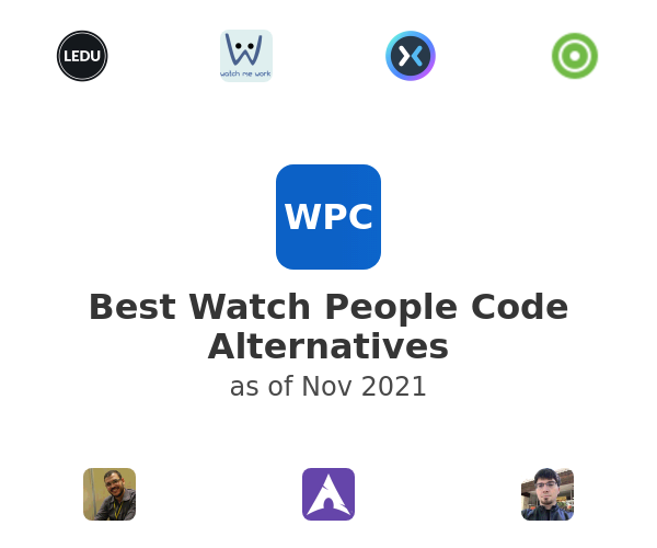 Best Watch People Code Alternatives