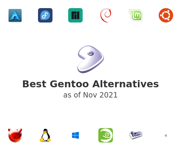 Best Gentoo Alternatives