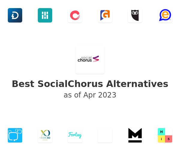 Best SocialChorus Alternatives