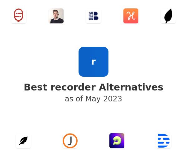 Best recorder Alternatives