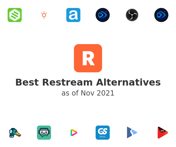 Best Restream Alternatives