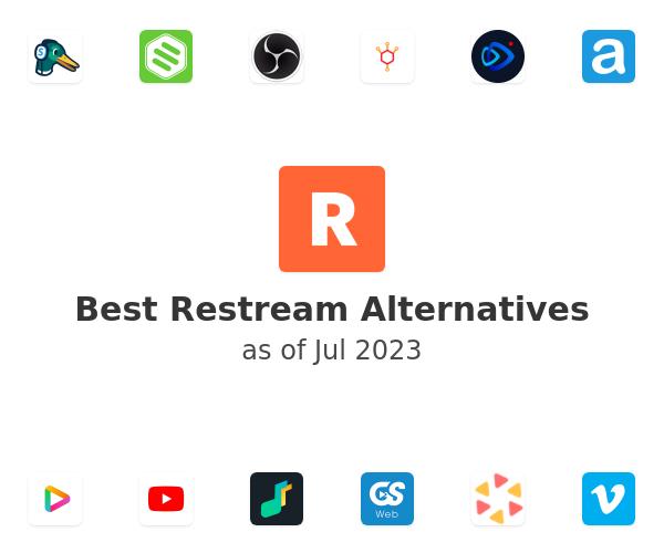 Best Restream Alternatives
