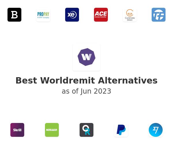Best Worldremit Alternatives