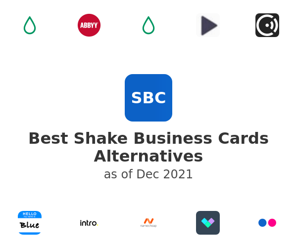 Best Shake Business Cards Alternatives