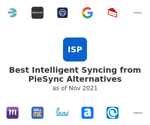 Best Intelligent Syncing from PieSync Alternatives