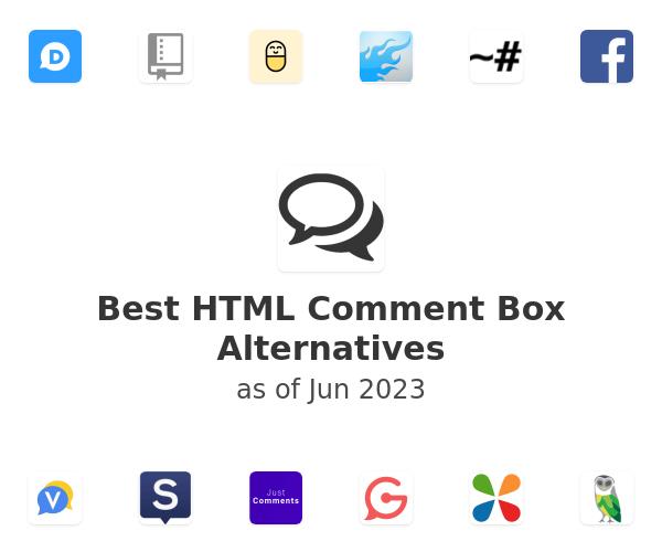 Best HTML Comment Box Alternatives