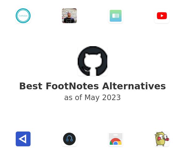 Best FootNotes Alternatives