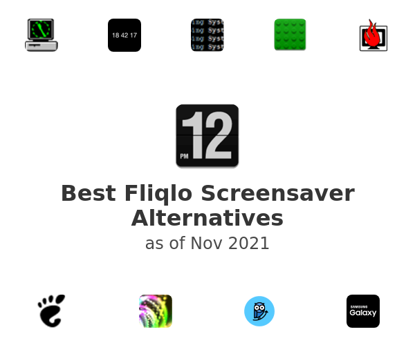 Best Fliqlo Screensaver Alternatives