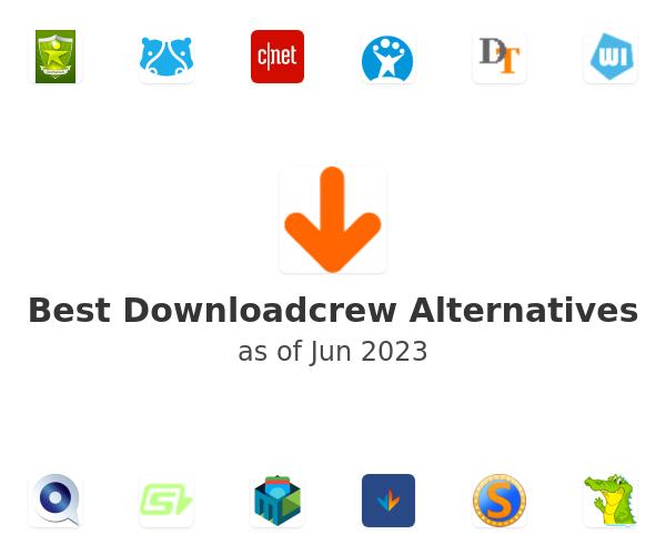 Best Downloadcrew Alternatives