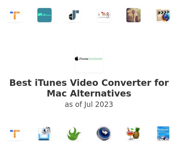 Best iTunes Video Converter for Mac Alternatives