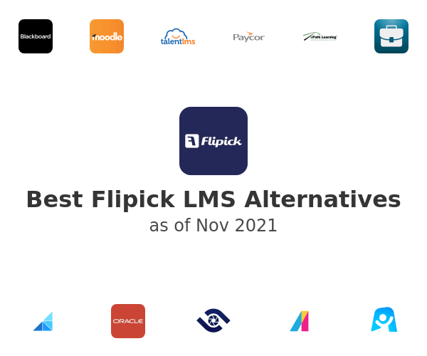 Best Flipick LMS Alternatives