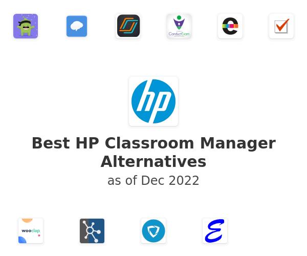 Best HP Classroom Manager Alternatives