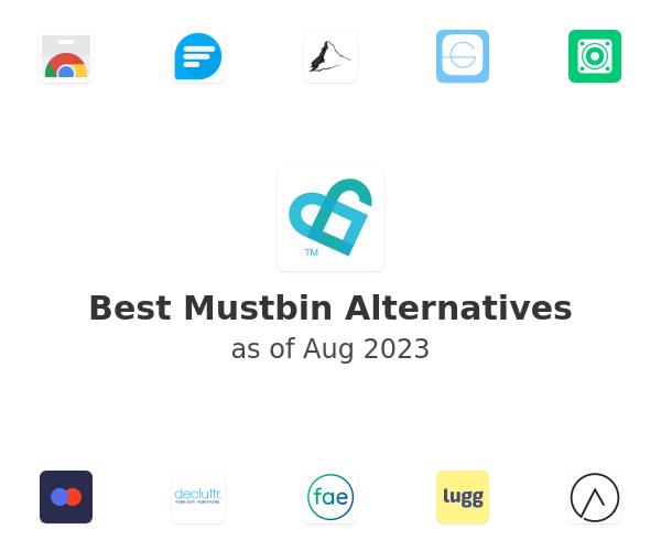 Best Mustbin Alternatives