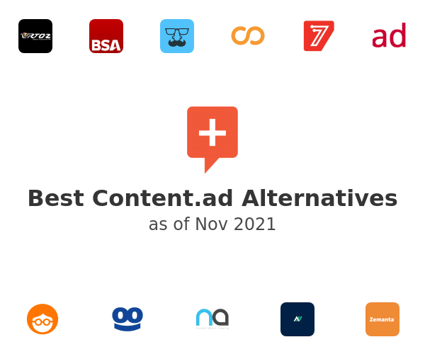 Best Content.ad Alternatives