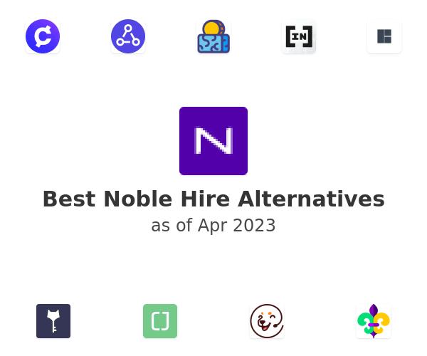 Best Noble Hire Alternatives