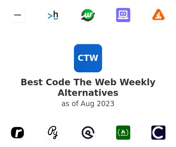 Best Code The Web Weekly Alternatives