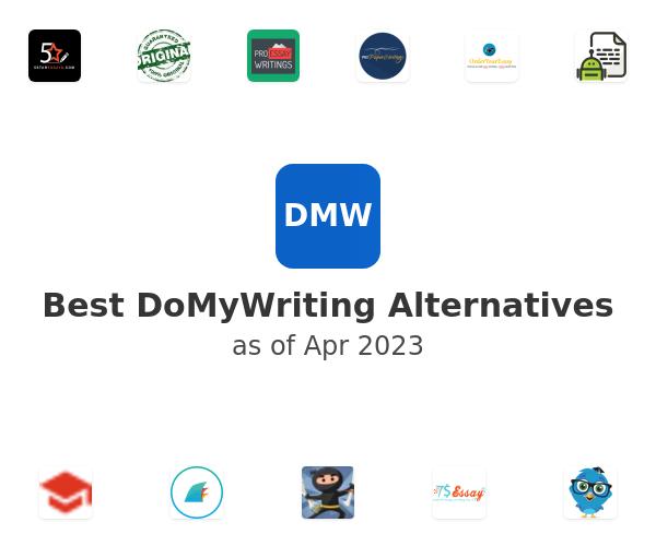 Best DoMyWriting Alternatives