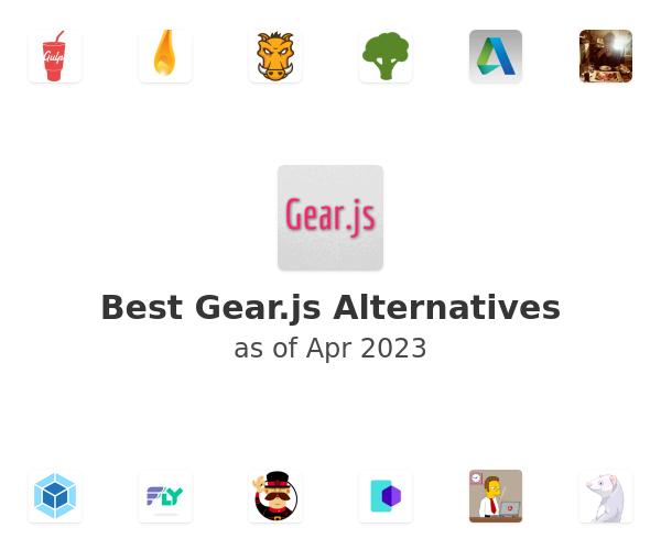 Best Gear.js Alternatives