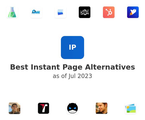 Best Instant Page Alternatives