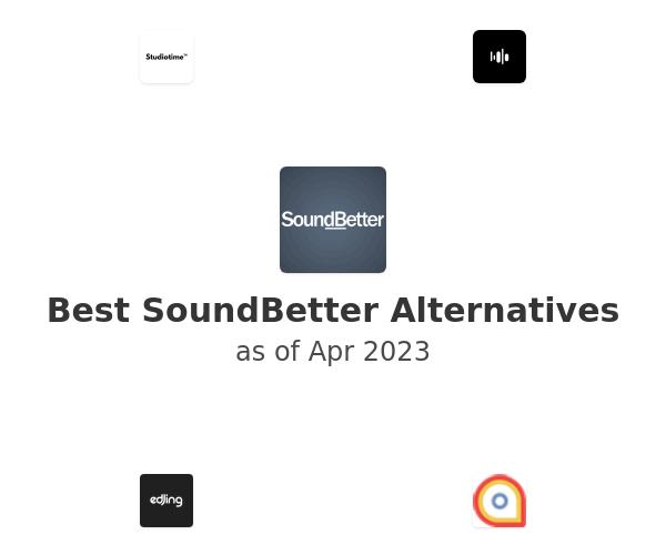 Best SoundBetter Alternatives
