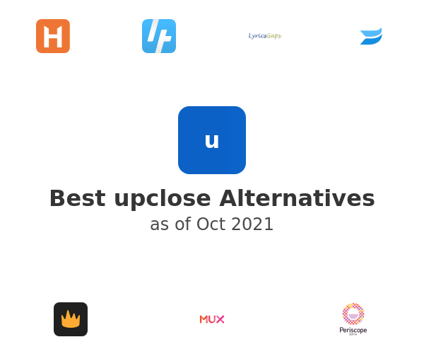 Best upclose Alternatives